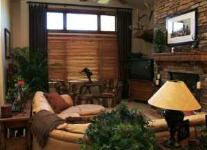 Knotty Alder Blinds in Castle Pines, CO