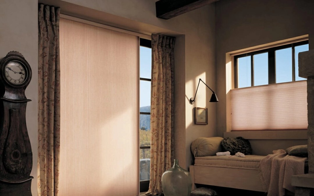 Vertical Honeycomb Shades