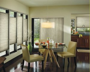 vertical honeycomb shade in Colorado Springs