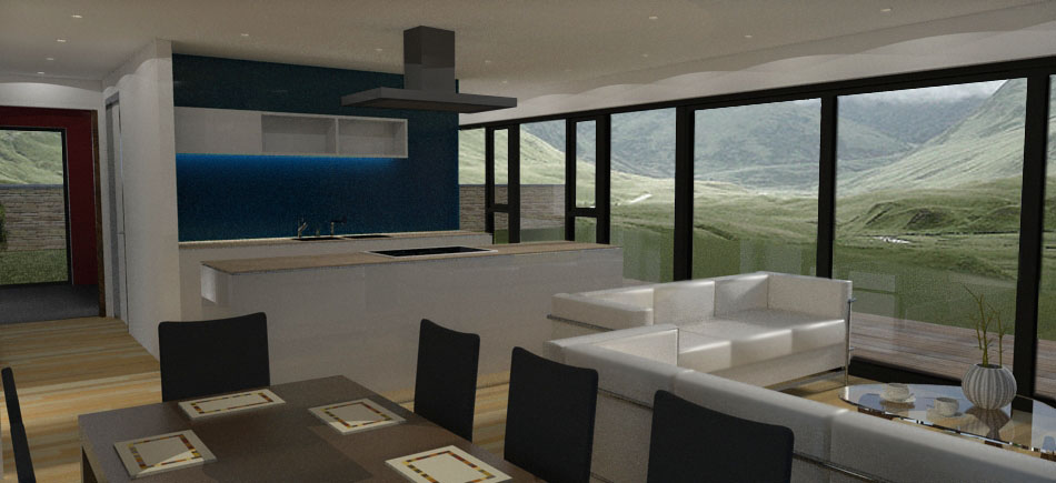 Room Plan Living Kitchen L Shaped Open