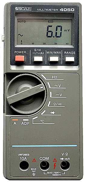 Soar 4050 Multimeter 1986