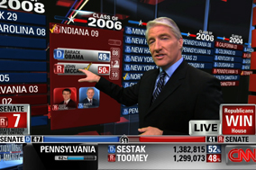CNN election night coverage wins by a landslide with ...