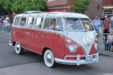 Hot August Nights: Restored VW Bus.