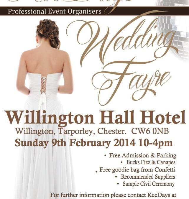 Toastmaster at Wedding Fayre Willington Hall Cheshire 9 February 2014