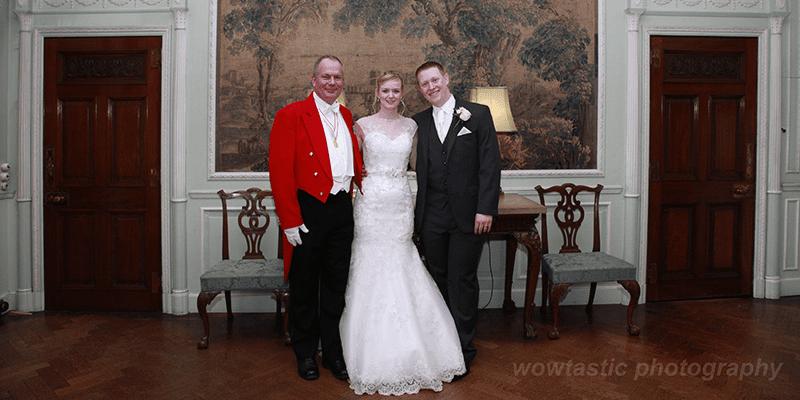 Toastmaster at the Wedding of Melissa & Gareth Thornton Manor Cheshire