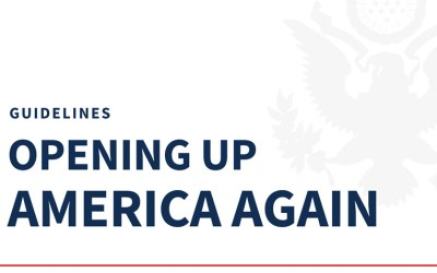 Reopening America Federal Guidelines