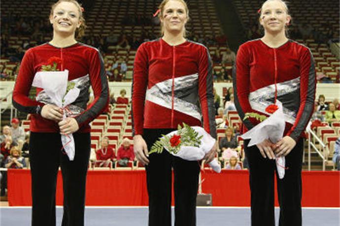 Arkansas gymnastics wins again_4502824465546363850