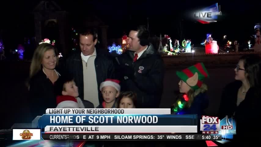 Light Up Your Neighborhood Norwood Family