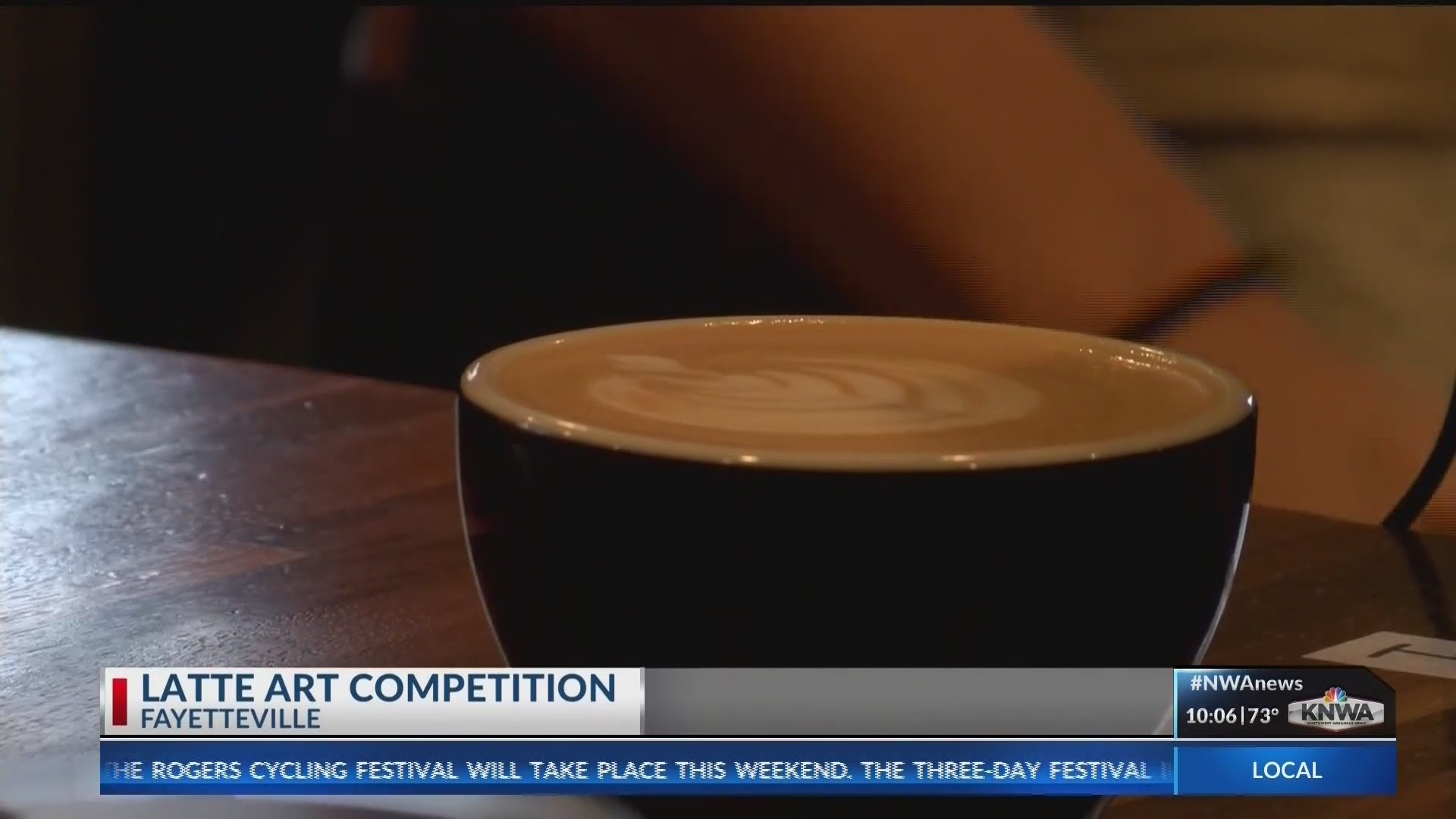 Baristas Compete in Puritan Coffee Latte Art Competition (KNWA)