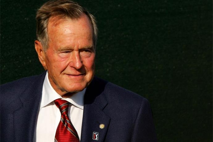 Fmr. Pres. George H.W. Bush To Speak at UA Monday Night_-4205579999976468941