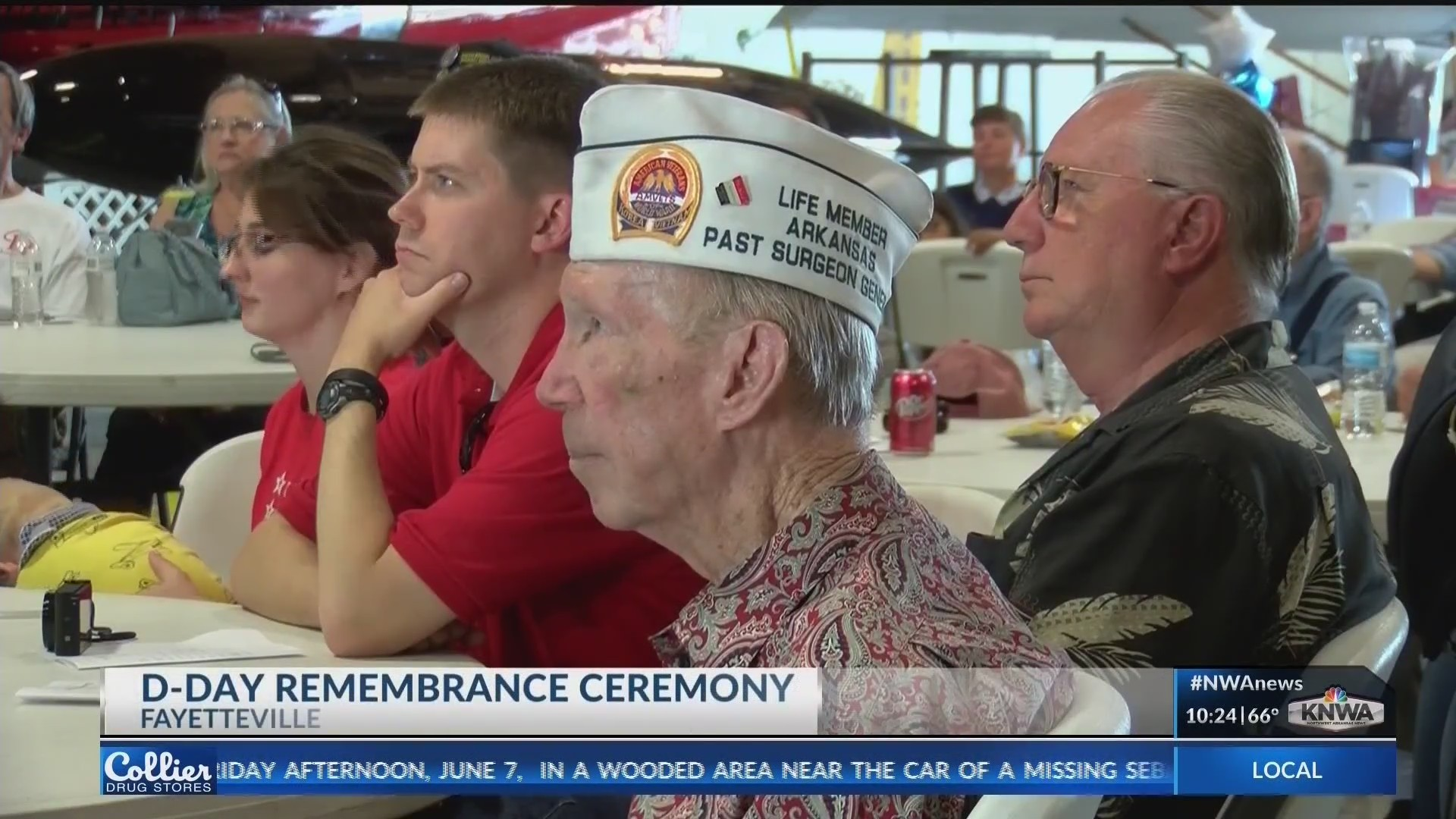 Arkansas Air and Military Museum holds D-Day remembrance ceremony (KNWA)