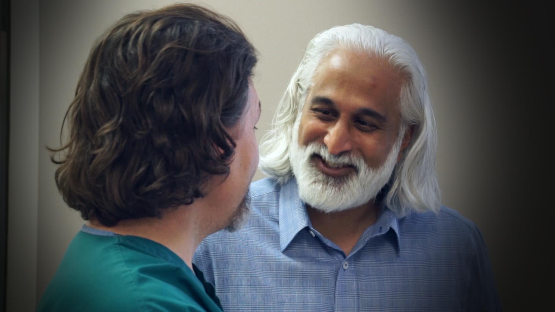 Dr. Chad Brekelbaum and Dr. Nirmal Kilambi of NWA Urology