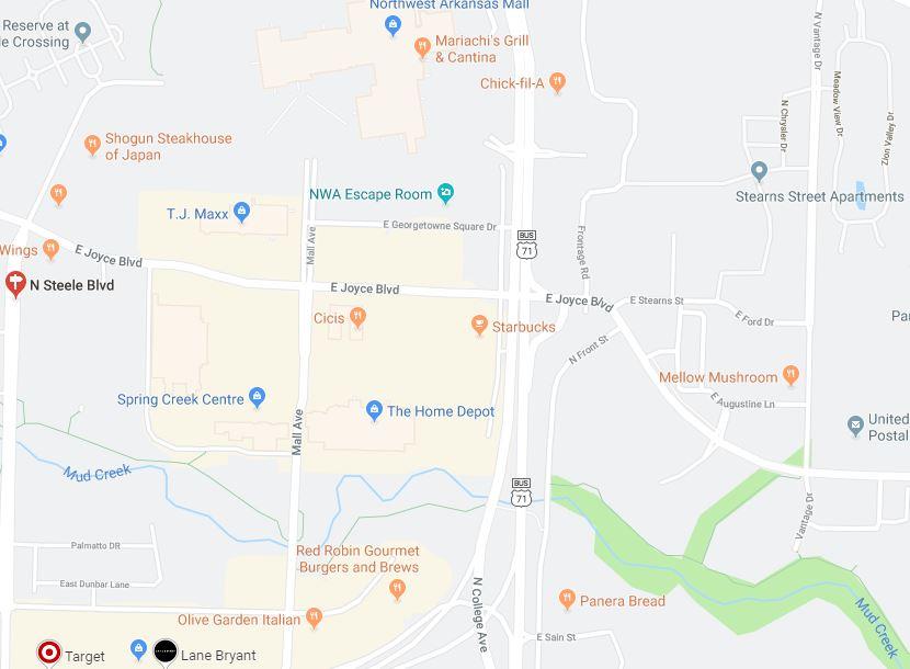 Road improvements scheduled near Northwest Arkansas Mall | KNWA