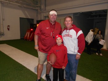 Coach and Zayne and Jeff Young 2014