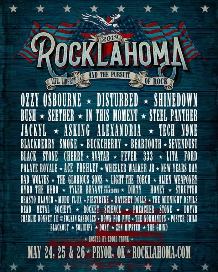 Rocklahoma 2019 Lineup