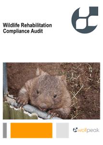 Support document – Wildlife rehabilitator compliance audit