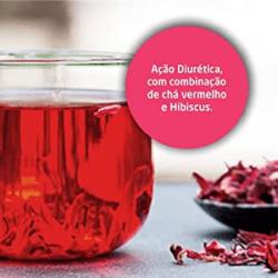 Chá de hibiscus e frutas vermelhas