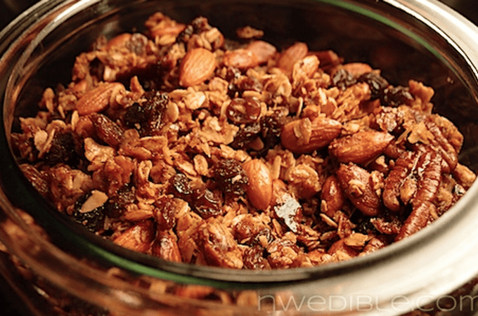 Honey, Nut and Raisin Granola: A Litmus Test For Beekeeping