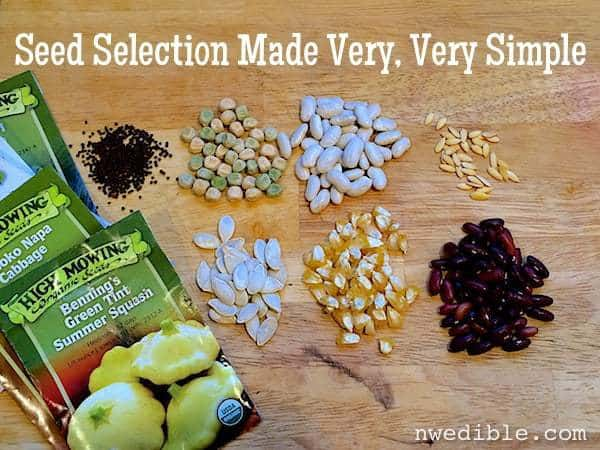 Seed Selection Made Very, Very Simple