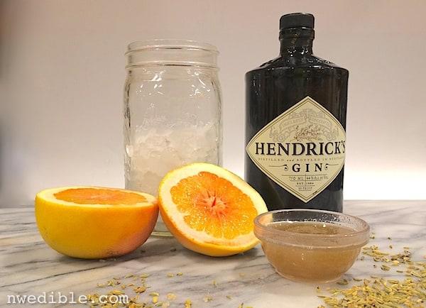 Fennel Gin Cocktail