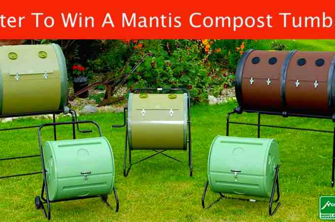 {Giveaway} Mantis ComposT-Twin Compost Tumbler