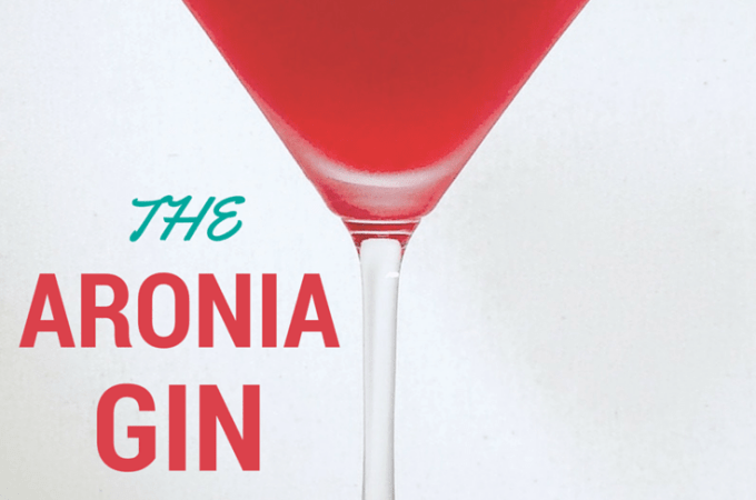 The Aronia Gin Cocktail
