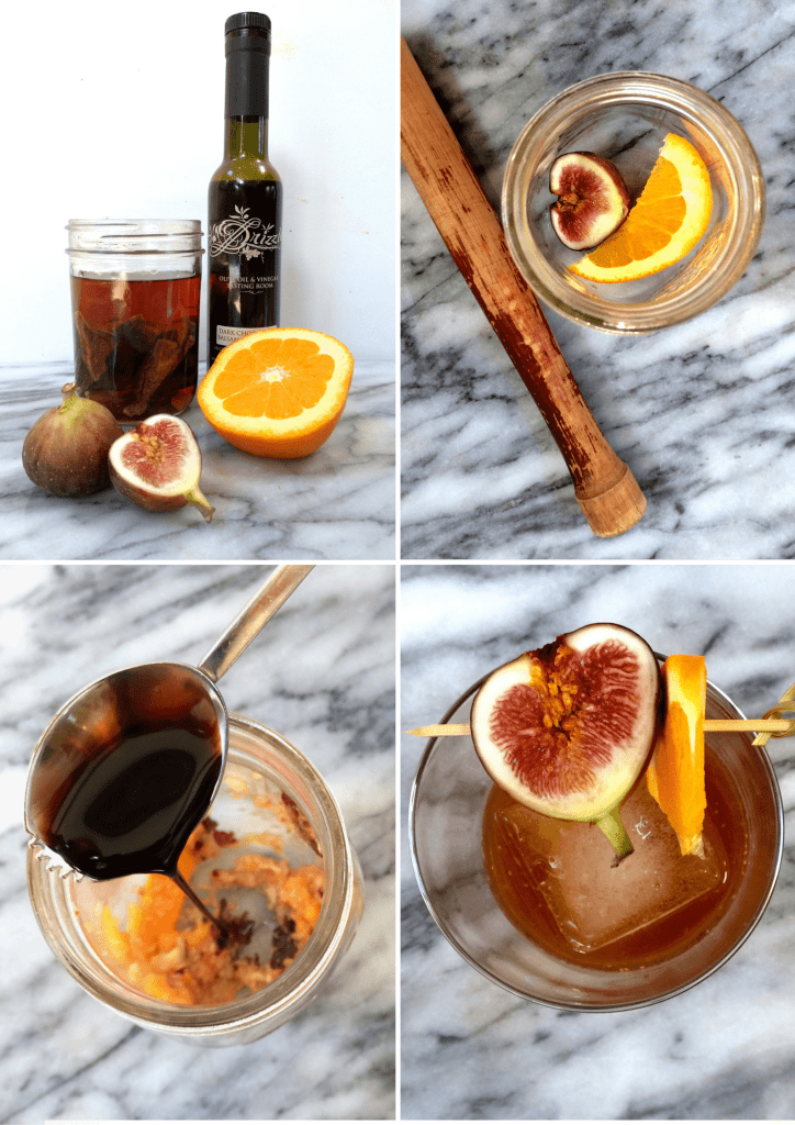 Fig Old Fashioned Process