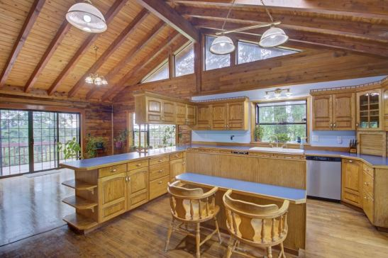 Tenino horse property kitchen