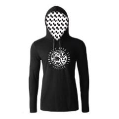 Hooded Long Sleeve Tee: $40