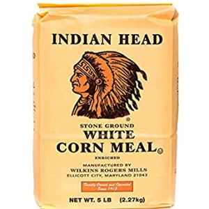 Indian Head White Corn Meal 2.27kg