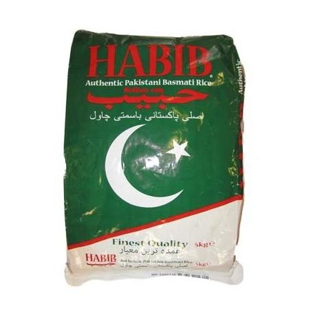Habib Authentic Pakistani Basmati Rice 5Kg