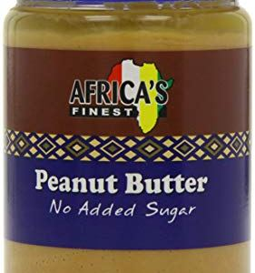 Africa's Finest Peanut Butter No Added Sugar 500g