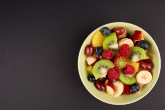 bowl of fruit for prostate health in Seattle, Washington
