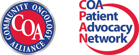 COA Patient Advocacy Network & Community Oncology Alliance Logos
