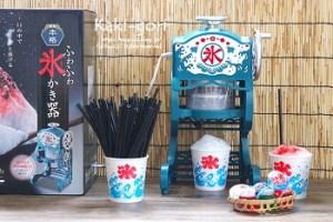手動の家庭用のかき氷機