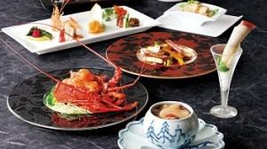 中国料理東天紅のディナー