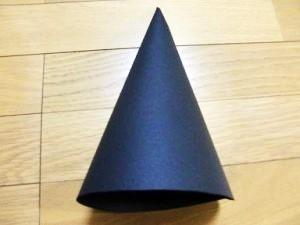 ハロウィンの魔女の帽子のとんがり部分