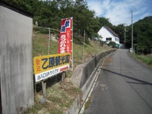 乙原観光園 関西の松茸狩りが出来るスポット