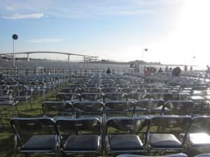木更津港まつり花火大会の有料席
