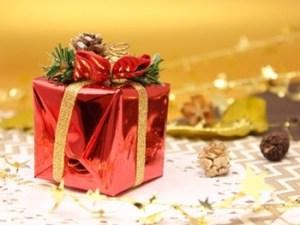 クリスマスプレゼントの箱