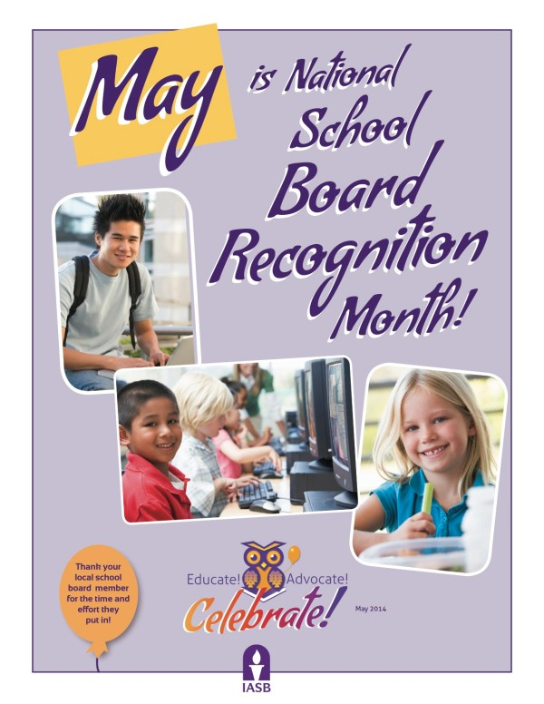 Northwood-Kensett - May is School Board Recognition Month!