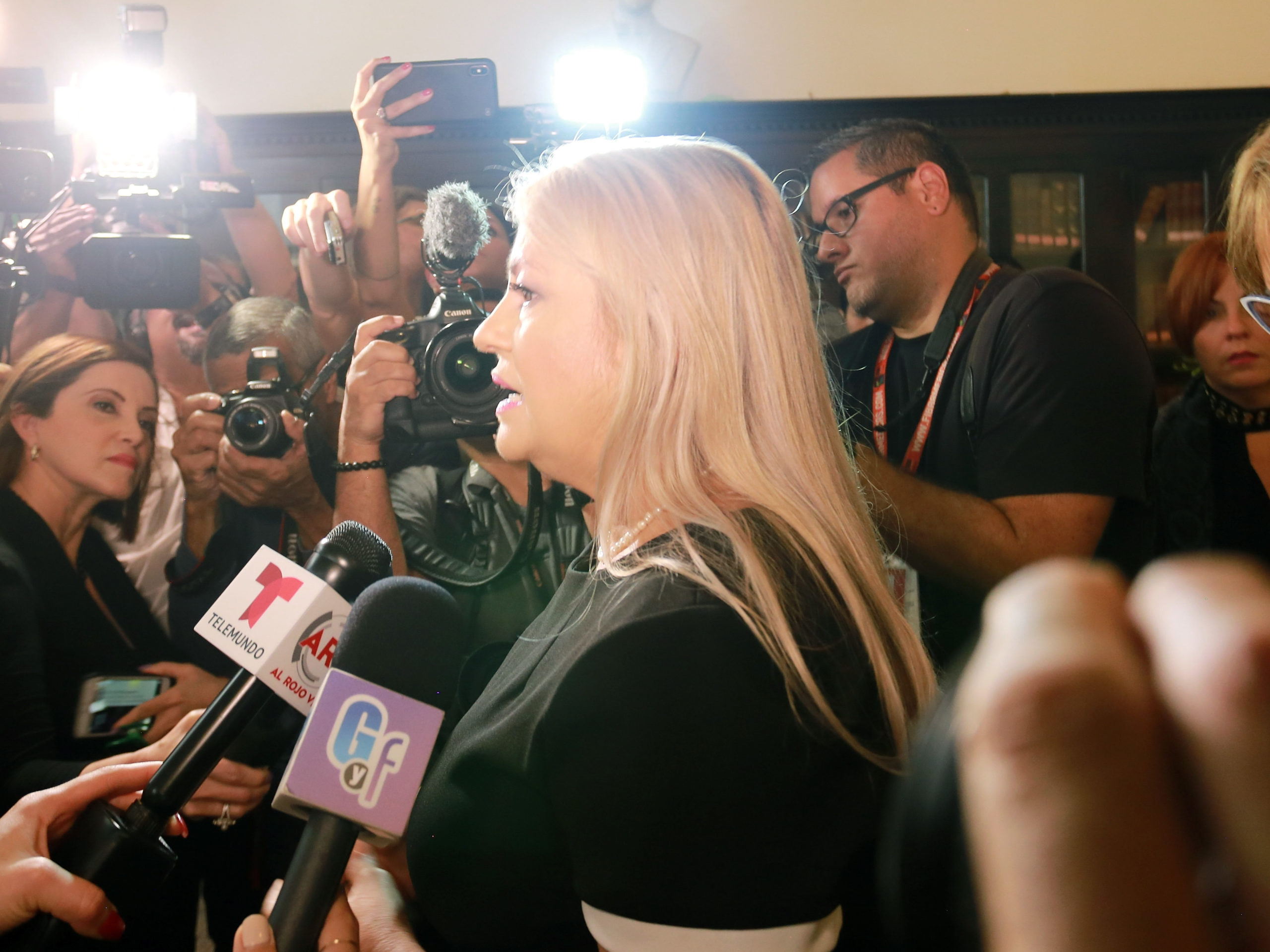 Political Unrest In Puerto Rico After Discovery Of Unused