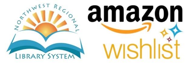 Northwest Regional Library System Amazon Wishlist Logo