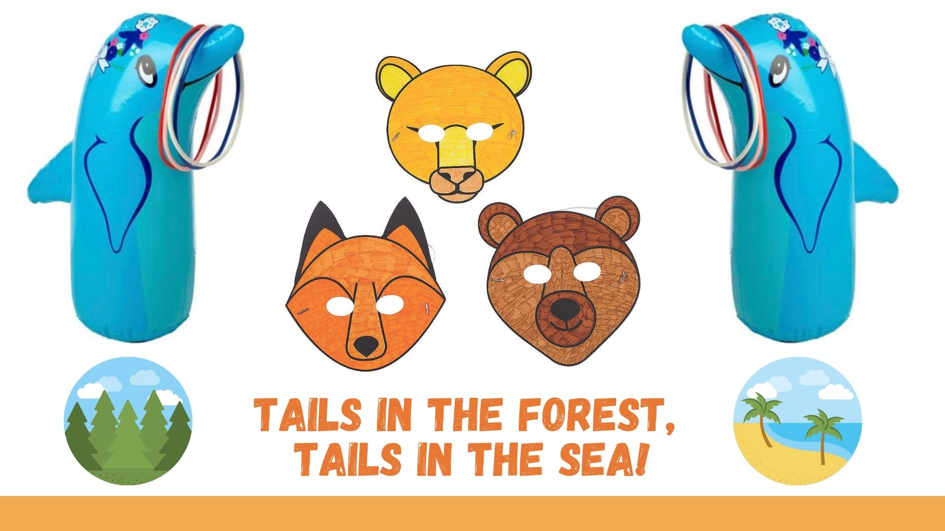 Tails in the Forest Tails in the Sea Crafts and Games