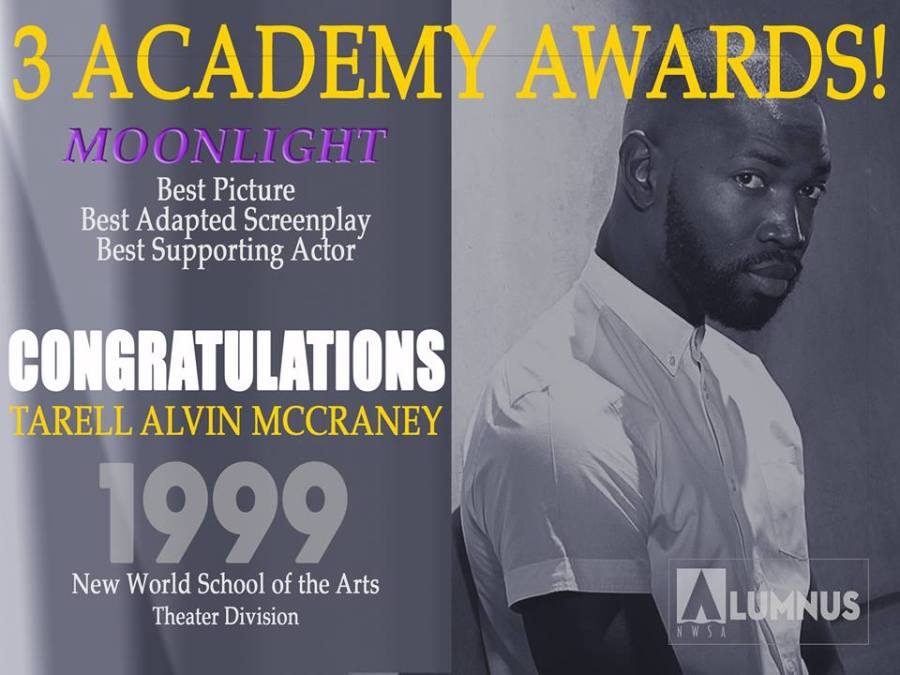 Tarell McCraney's Moonlight honored with a street re-naming in Liberty City