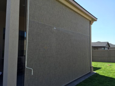 Rattan Cable Guided Shades with Magnetic Lock System