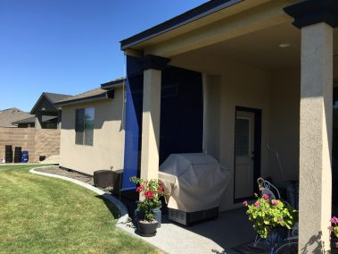 Royal Blue Standard Patio Shade