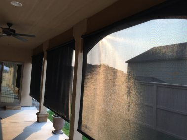 Clutch Operated Patio Shades
