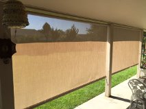 Clutch Type Stucco Fabric Solar Shades