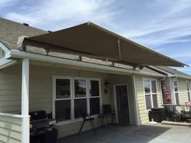 Roof Mounted Awning